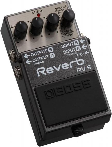 Pedal Para Guitarra Boss Rv-6 Reverb