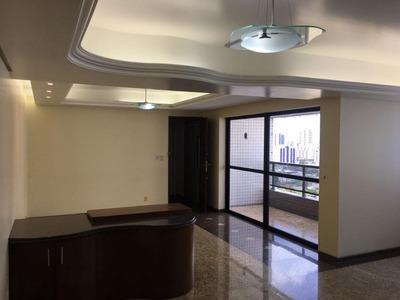 Apartamento Em Boa Viagem, Recife/pe De 186m² 4 Quartos À Venda Por R$ 1.150.000,00para Locação R$ 4.500,00/mes - Ap170043lr