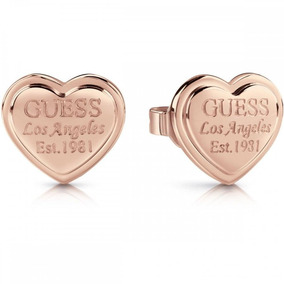 Aros Follow My Charm Oro Rosa Guess Jewellery
