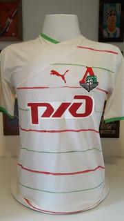 Camisa Futebol Lokomotiv Moscou Usada Em Jogo