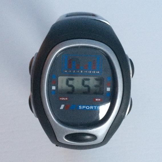 Relógio Sports Masculino Digital Preto Cinza Barato