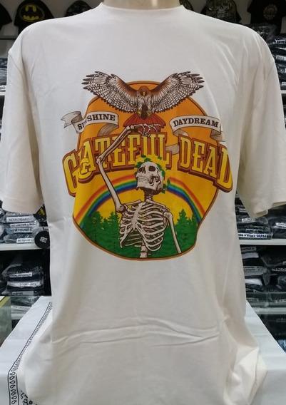Camiseta Grateful Dead - Sunshine Daydead - Tamanho Gg (nor)