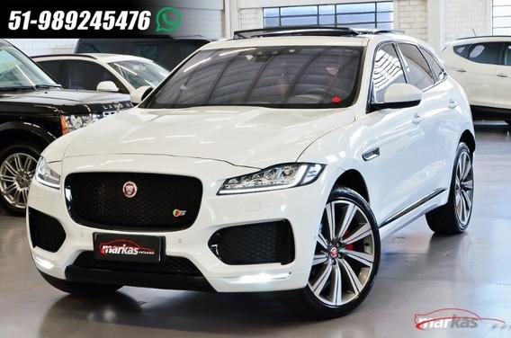 Jaguar F-pace Fpace S V6 380hp Teto 41 Mil Km