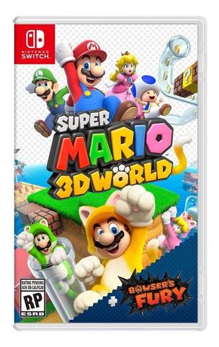 Imagen 1 de 3 de Super Mario 3D World + Bowser's Fury Standard Edition Nintendo Switch Físico