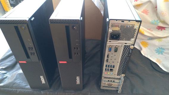 Pc Cpu Lenovo Ssf Intel I5 3.60ghz 16gb Ddr4 Hd 500gb Win10