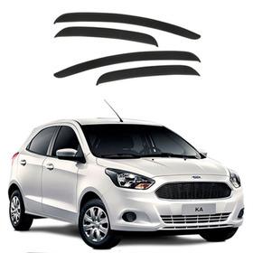Calha De Chuva Ka Novo Hatch E Sedan 2016 2017 4 Portas Ford