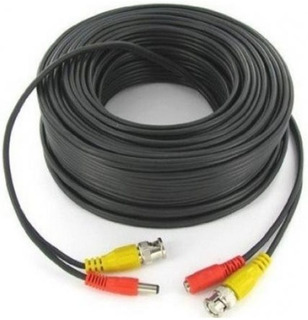 Cable Helicoidal Video + Alimentacion Armado 18 Metros Gralf