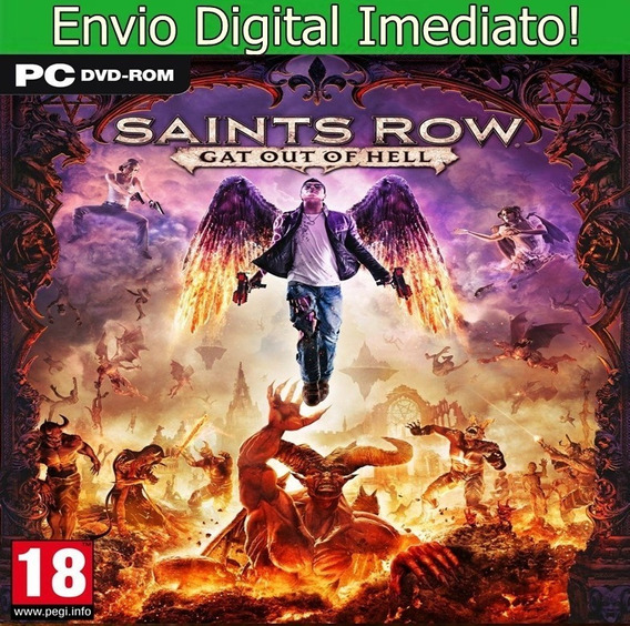 Saints Row Gat Out Of Hell Pc Hd Original