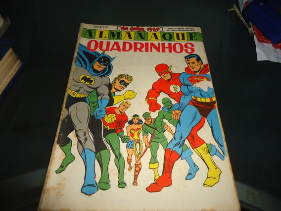 Almanaque Quadrinhos 1969 Ebal Superman, Batman, Flash