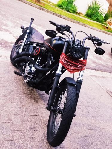 Harley Davidson - Blackline 2012