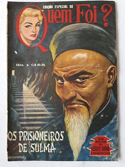 Hq Quem Foi? Edição Especial Ebal - Raro E Antigo 1982