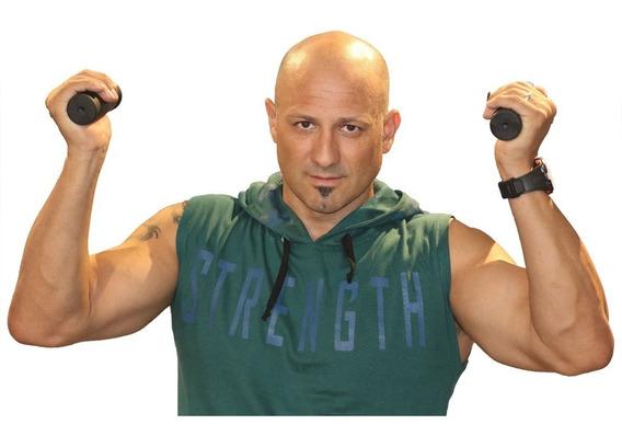 Musculosa Strength Gym Con Capucha
