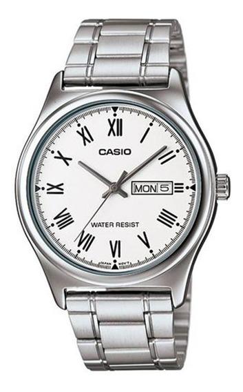 Relógio Masculino Analógico Casio Mtp-v006d-7budf - Prata