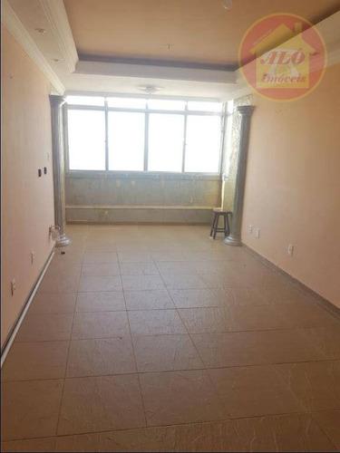 Apartamento À Venda, 88 M² Por R$ 340.000,00 - Ocian - Praia Grande/sp - Ap4262