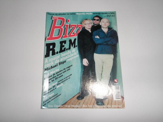 Revista Bizz R.e.m. - Depeche Mode, Bon Jovi, Iron Maiden