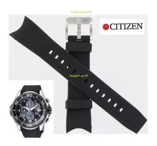 Pulseira Do Relógio Citizen Bj-2110-01 Borracha