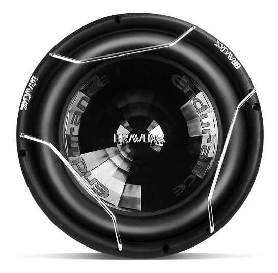 Kit Com 2 Subwoofers Bravox Endurance E2k 12 800wrms 4+4