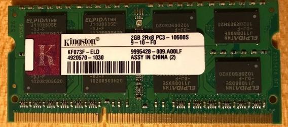 Memoria Kingston 2gb Ddr3 2rx8 Pc3-10600s-9-10-f0 Pc Mac
