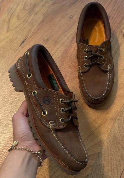 Botas Zapatos Timberland Edición Especial Café 22.5 Original