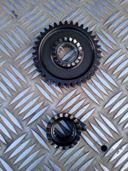 Conjunto De Engrenagem De Partida Xl 250r Usado Original