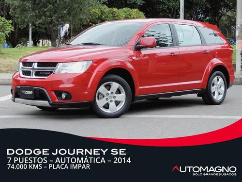 Dodge Journey Se At 4x2 7p