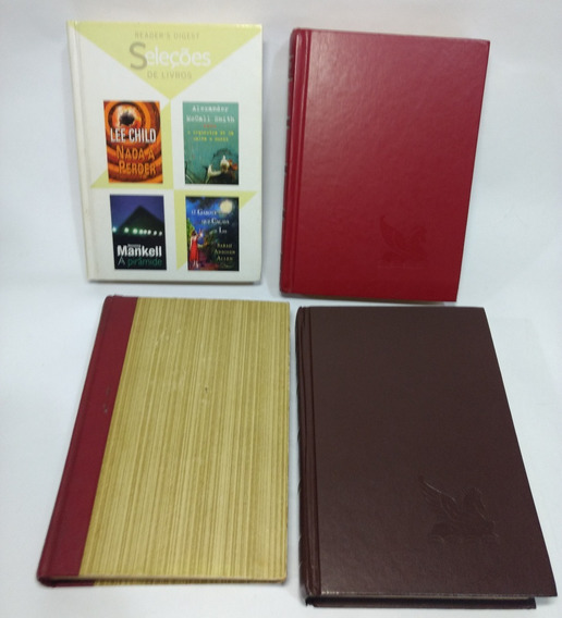 Seleções De Livros Readers Digest 4 Vols 16 Títulos