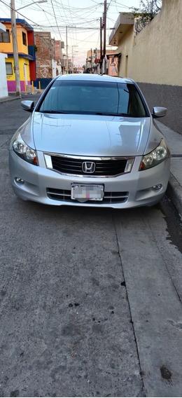 Honda Accord 3.5 Ex Sedan V6 Piel Abs Qc Cd Mt 2009