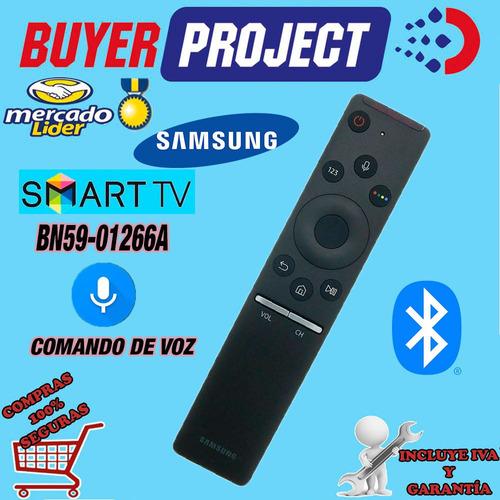 Imagen 1 de 3 de Control Remoto Smart Tv Samsung Bluetooth + Comando De Voz