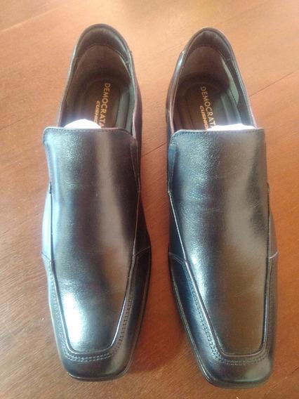 Zapato Cuero Demócrata Hombre Bérgamo Mocasin