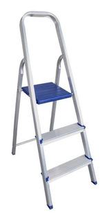 Escada Doméstica Em Alumínio 3 Degraus 163300 Belfix
