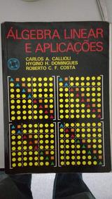 Algebra Linear E Aplicacoes