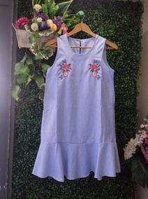 303333f8cc Vestido Tunica En Batista Bordado - Vestidos de Mujer en Mercado ...