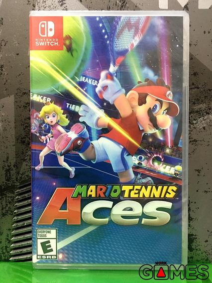 Mario Tennis Aces Novo Lacrado A Pronta Entrega