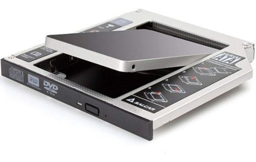 Caddy Segundo Disco Notebook Hdd Sata Ssd Universal 9.5 7 Mm