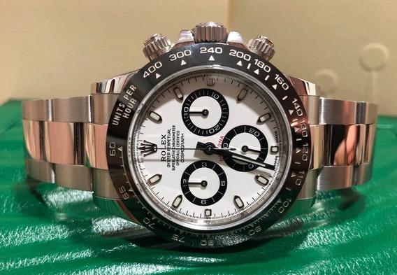 Rolex Daytona Aço Cerâmica 2018 - Aceito Troca