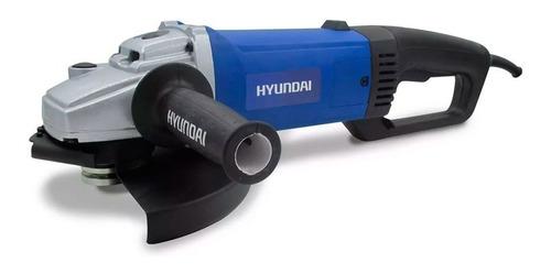 Amoladora Hyundai 2000w 180/230 Mm 6000 Rpm Hyag313 - Cuotas