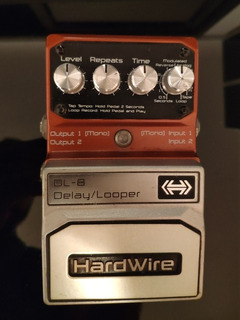 Pedal Digitech Hardwire Dl-8 Delay Looper