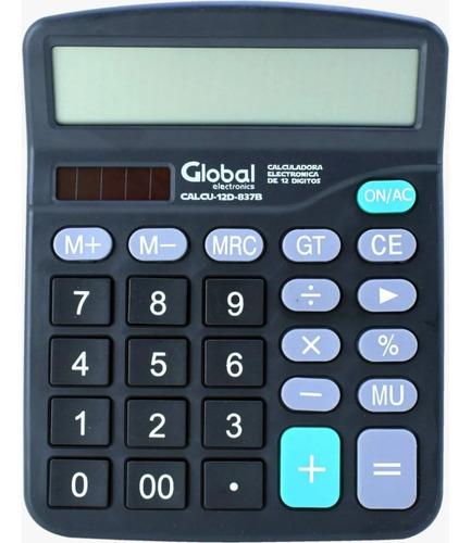 Global Calculadora 12 Digitos Calcu-12d-837b