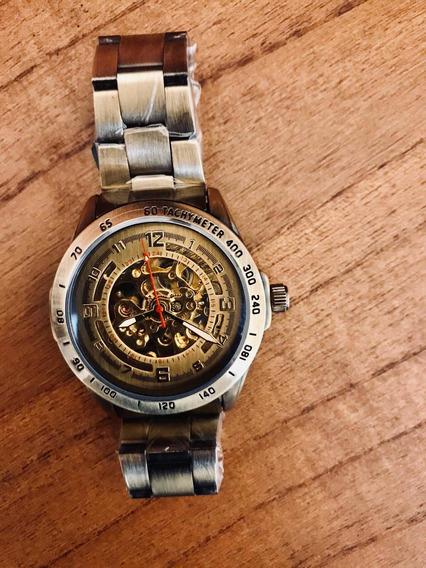Relógio Winner Manual Automático Skelekon