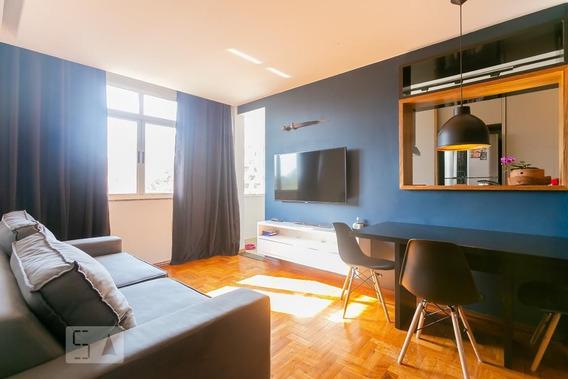 Apartamento No 6º Andar Mobiliado Com 1 Dormitório - Id: 892957834 - 257834