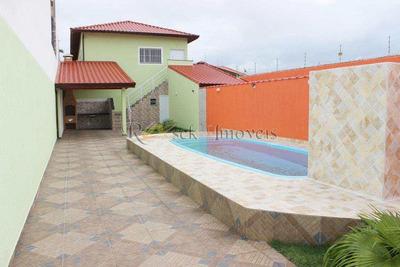 Casa Com 4 Dorms, Cibratel Ii, Itanhaém - R$ 324 Mil, Cod: 372 - V372