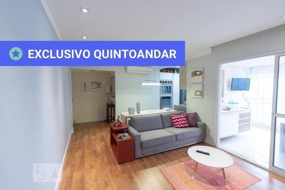 Apartamento No 16º Andar Mobiliado Com 2 Dormitórios E 2 Garagens - Id: 892967409 - 267409