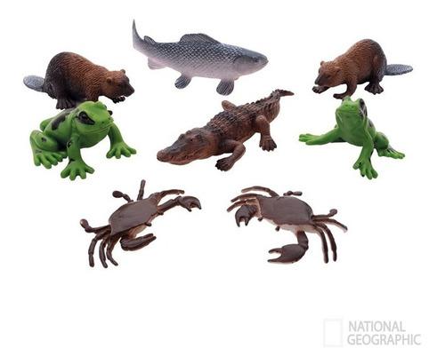Figuras De Animales De Río Surtido Natgeo /torogoz