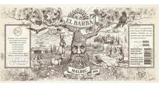 Vino Zorzal El Barba Malbec 2016 Gualtallary