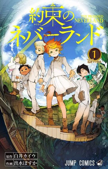 Mangá Yakusoku No Neverland Em Japonês Volume 1-14 Digital
