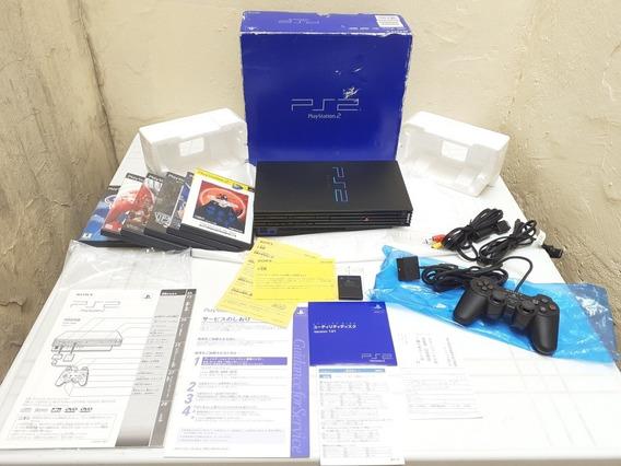Playstantion 2 Scph 10000 Raro Japones Impecavel Frete 12xsj