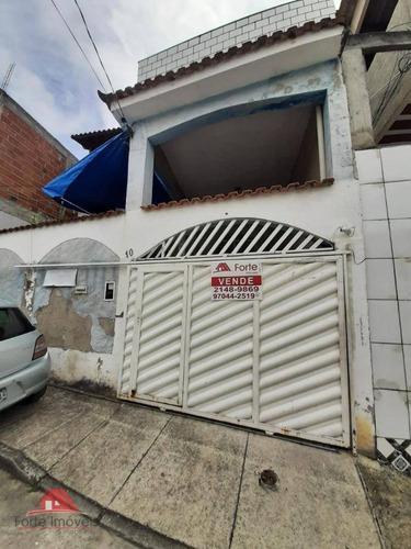 2 Casas E Uma Kitnet. B. Santíssimo.  - Ca0573