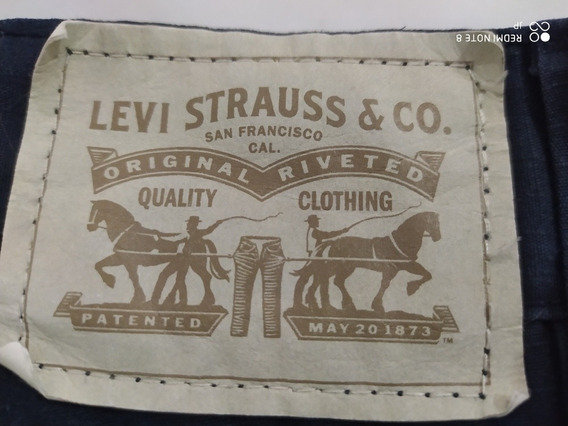 Levi Strauss Shorts Niño 12 Años Original Usado