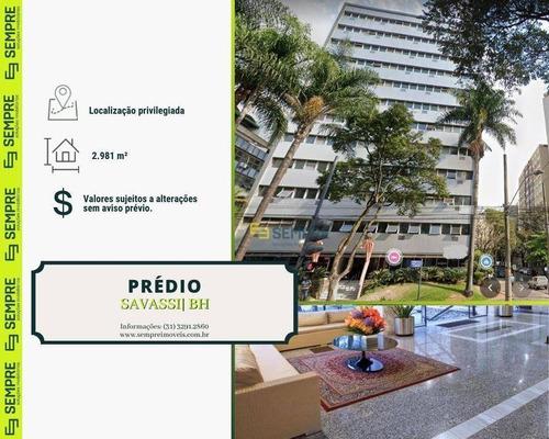Imagem 1 de 15 de Prédio À Venda, 2.981 M² - Savassi - Belo Horizonte/mg - Pr0027