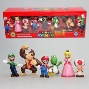 Coleção Bonecos Mario Bros